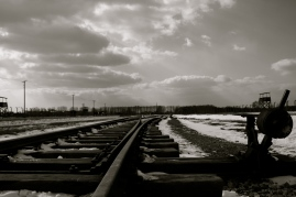 Tracks to gas chambers