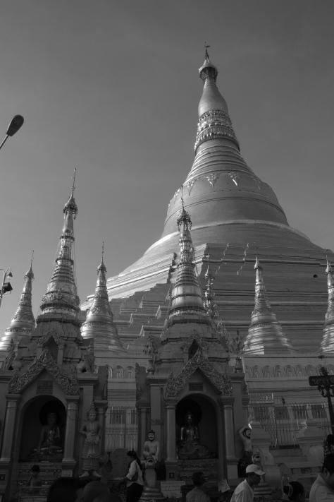 Shwedagon Pagoda, Yangoon Burma