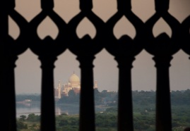 Taj Mahal behind bars