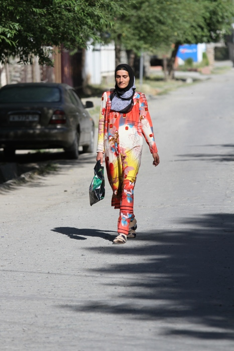 Woman on her way to the office - Kalaikhumb