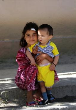 Sister and brother - Kalaikhumb