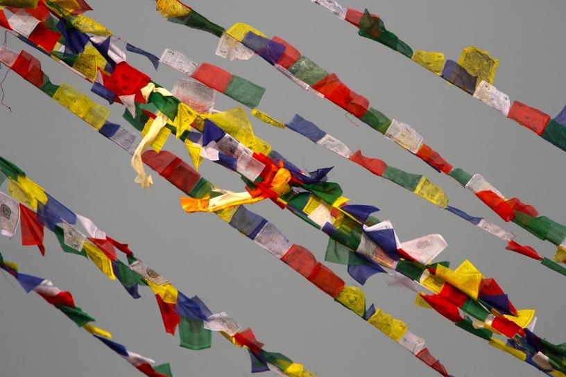 prayer flag in Kathmandu